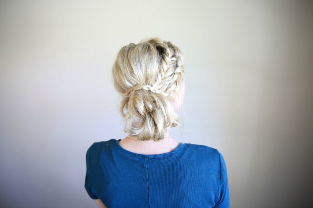 Mixed Braid Bun | Cute Girls Hairstyles