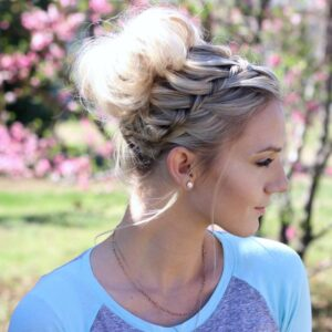 Waterfall Bun | Updo
