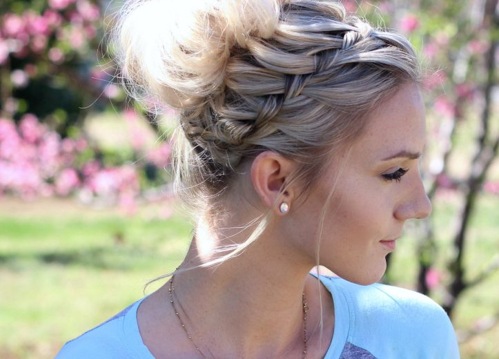 Messy Bun Cute Girls Hairstyles Part 2