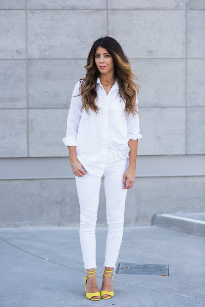 All White | Dressy Casual | CGH Lifestyle