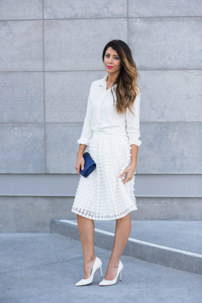 All White | Dressy | CGH Lifestyle
