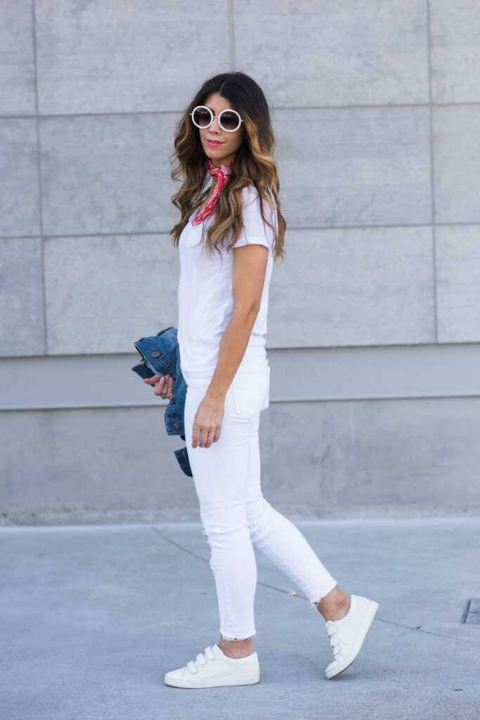 All White | Casual | CGH Lifestyle