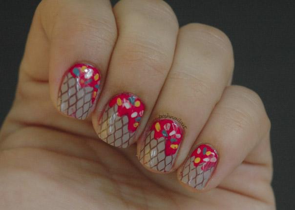 Ice Cream Cone Nails | CGH Lifestyle