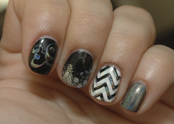 Chevron Nails | CGH Lifestyle