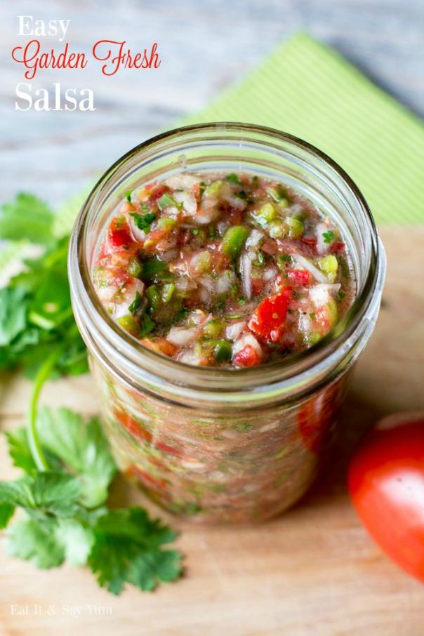 Garden Fresh Salsa | CGH Lifestyle