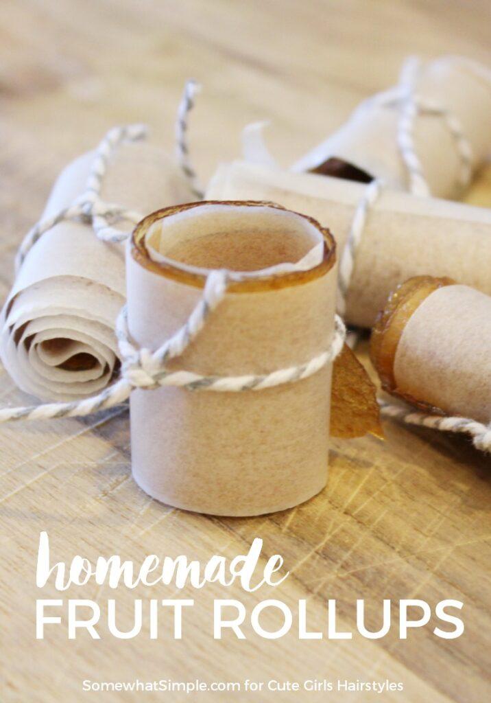 Homemade Fruit RollUps | CGH Lifestyle