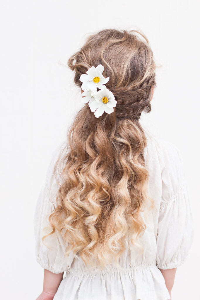 Half Up with Braided Accents | CGH Lifestyle
