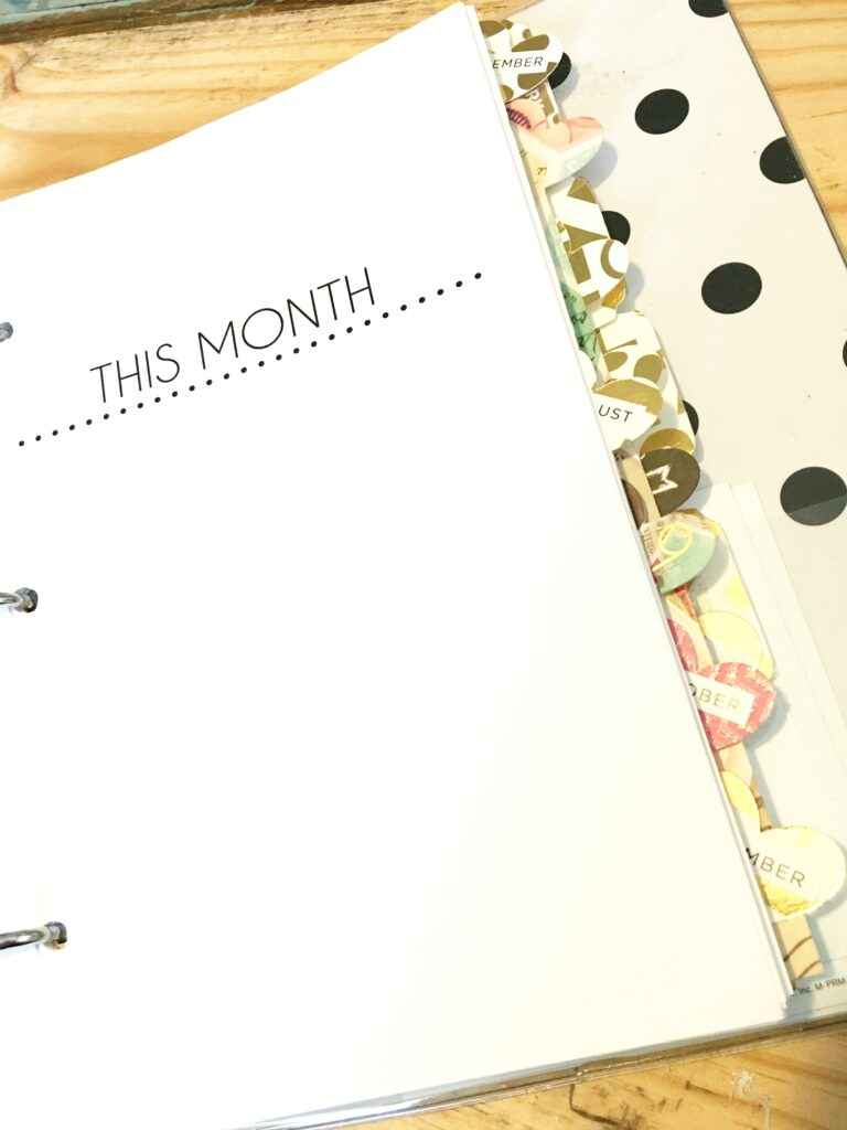 Monthly Planner | CGH Lifestyle