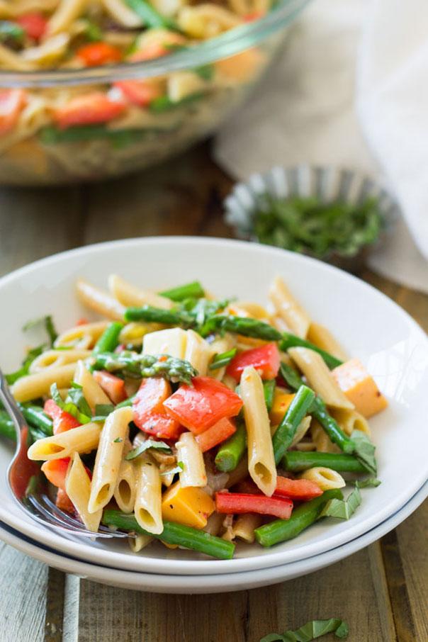 Penne Asparagus Pasta Salad | CGH Lifestyle