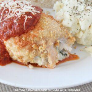 Stuffed Chicken Parmesan | CGH Lifestyle
