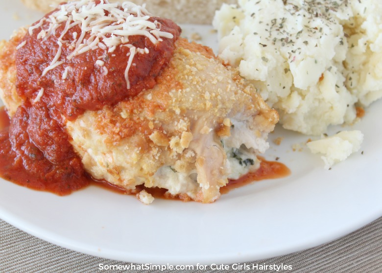 Stuffed Chicken Parmesan | CGH Lifestyle