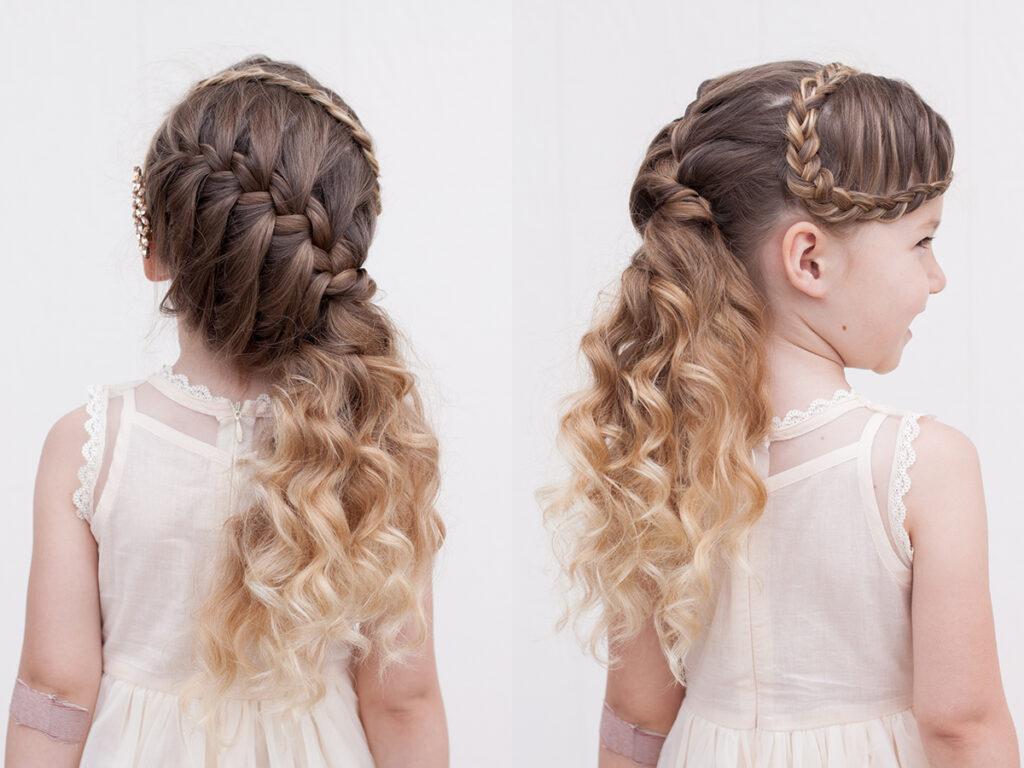 Faux Braided Bangs  | CGH Lifestyle