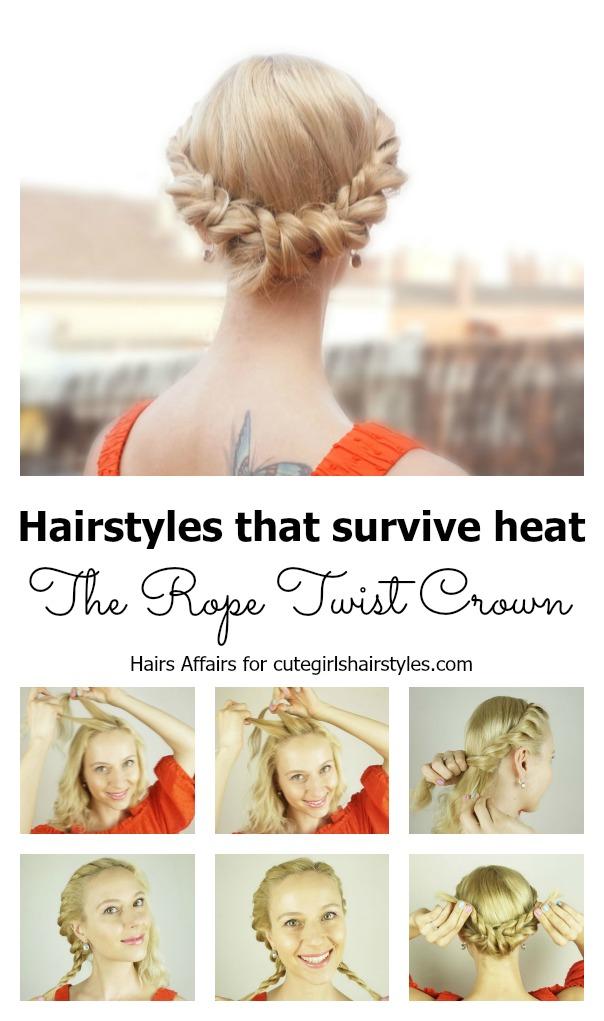 Rope Twist Crown | CGH Lifestyle