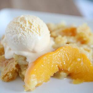 Peach Dump Cake | CGH Lifestyle