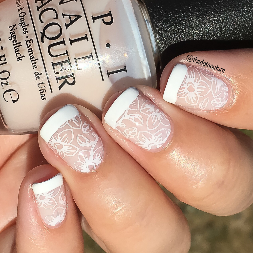 Bridal French Tip Nails | CGH Lifestyle