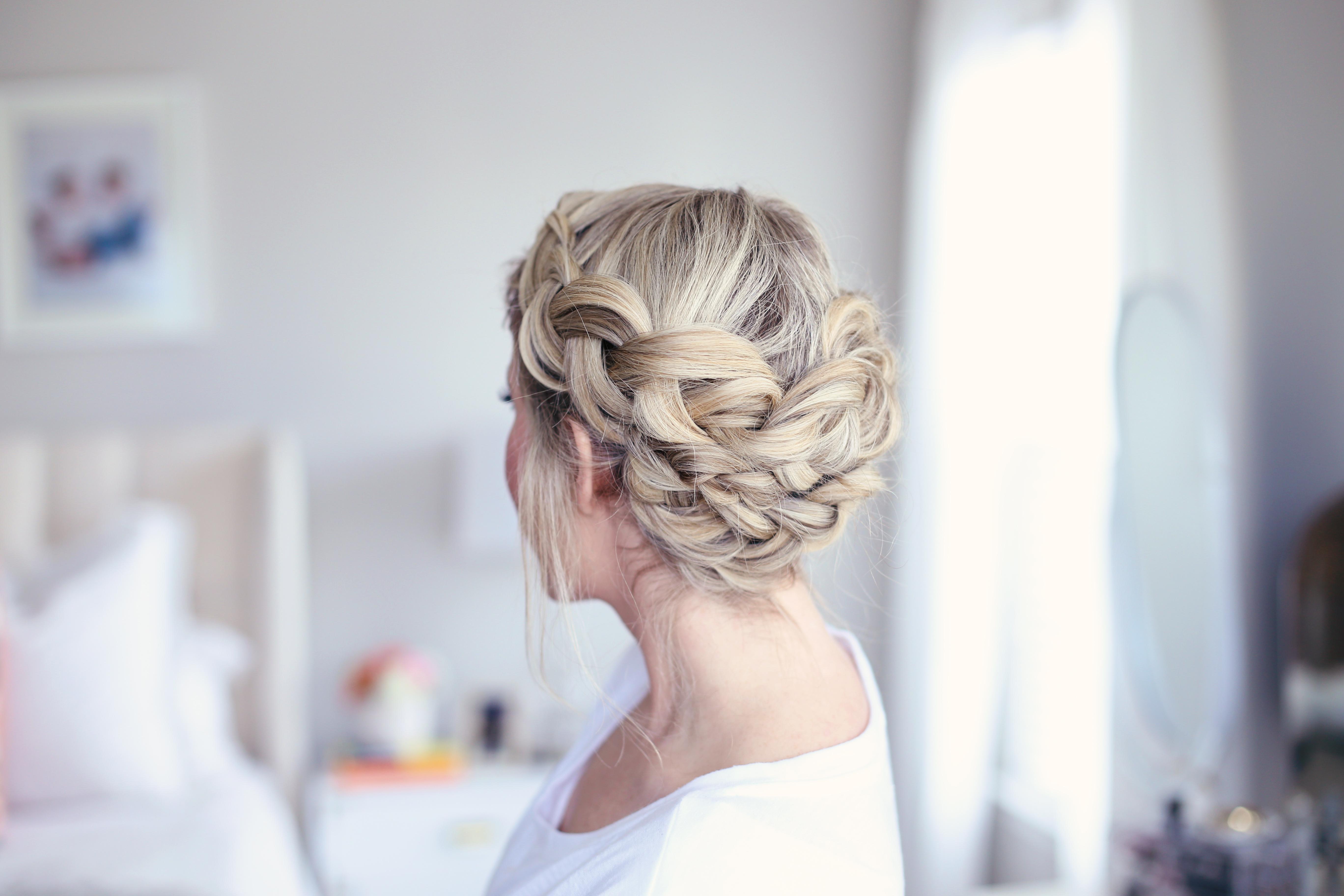 Easy DIY Crown Braid | Cute Girls Hairstyles