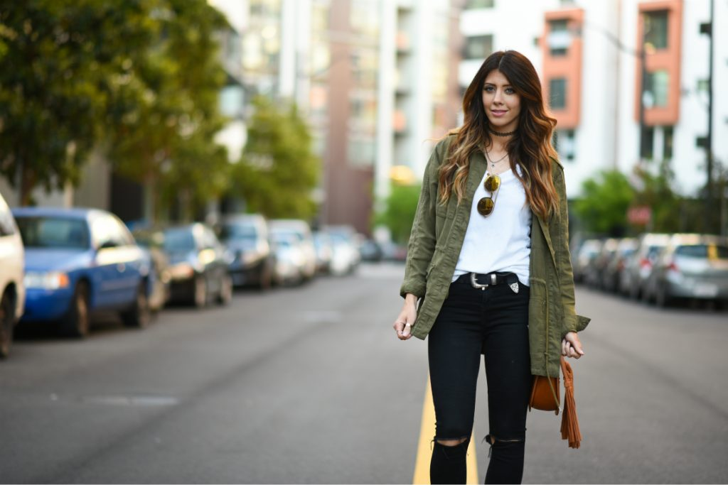 Fall Army Jacket | CGH Lifestyle