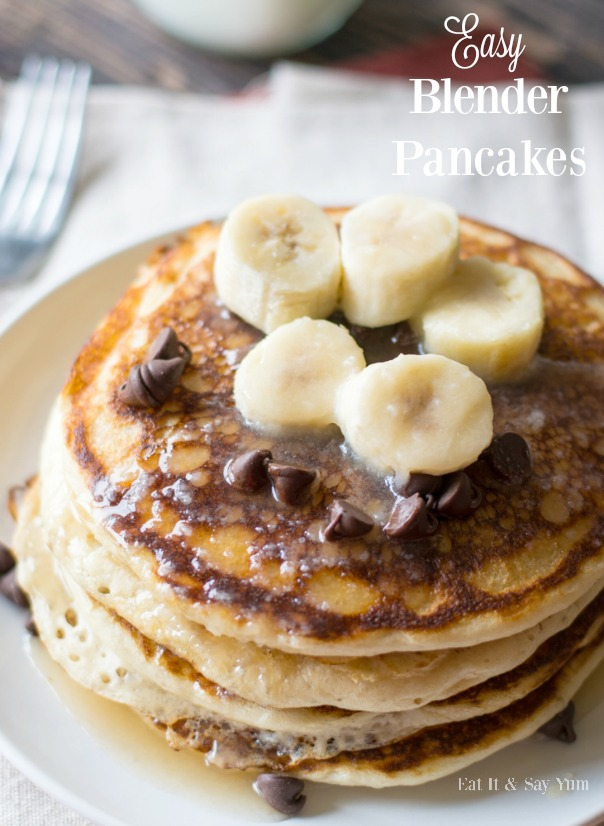 Easy Blender Pancakes   CGH Lifestyle