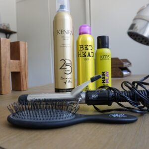 Hair Spray | Spray Wax | Wet Brush | Conair | Curling Iron | Dry Shampoo | Hair Products