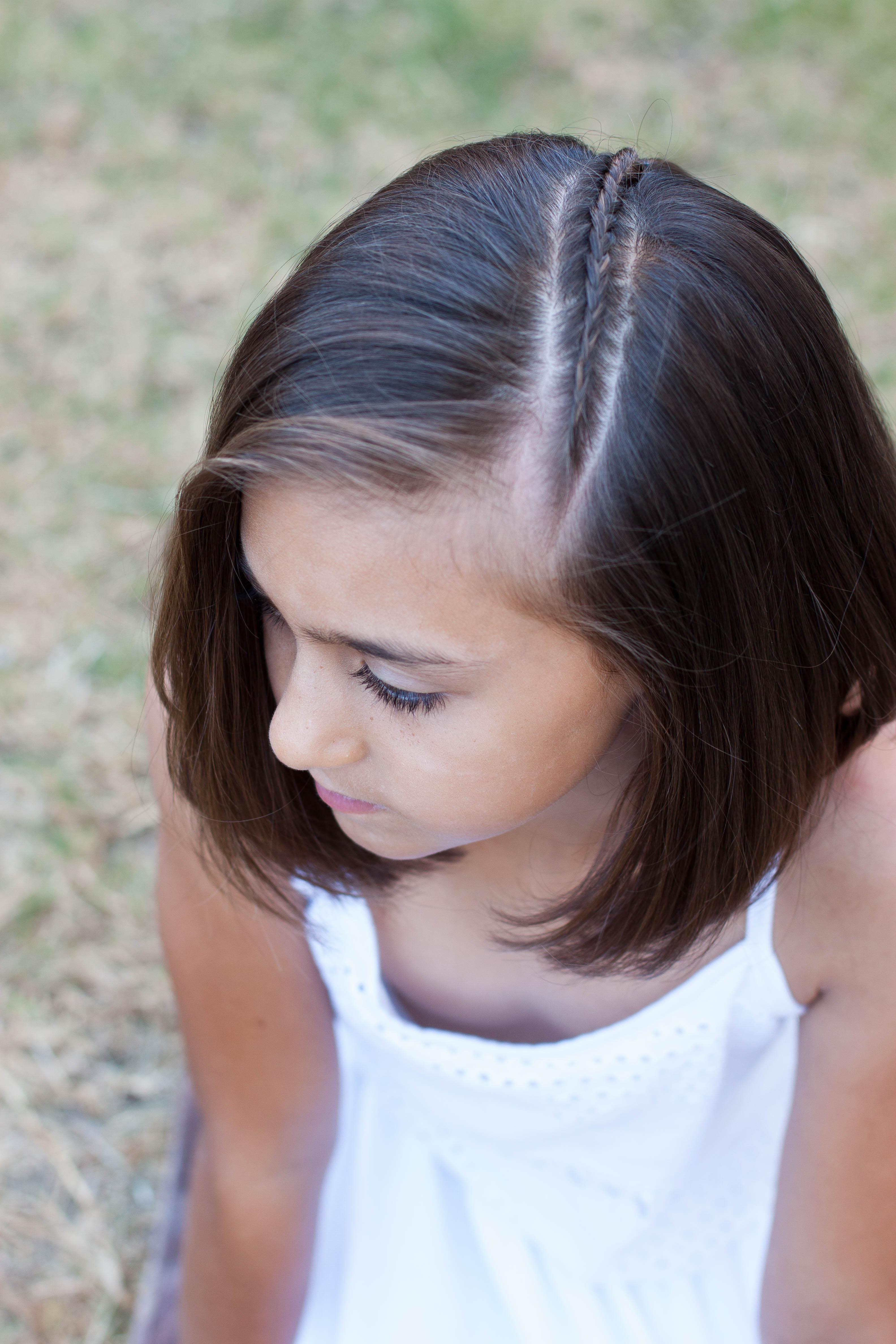 5 braids for short hair | cute girls hairstyles