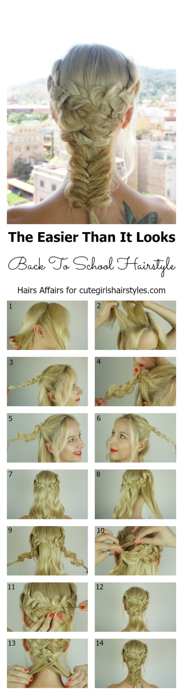 Easy Back To School Hairstyle Cute Girls Hairstyles