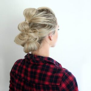 Bubble Updo | Cute Girls Hairsytles
