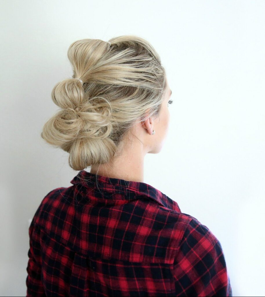 Bubble Updo   Cute Girls Hairsytles
