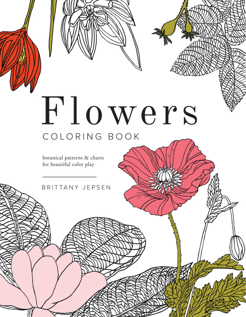 Flower Coloring Book | CGH lifestyle