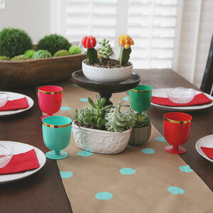 DIY Kraft Paper Table Runner | CGH Lifestyle
