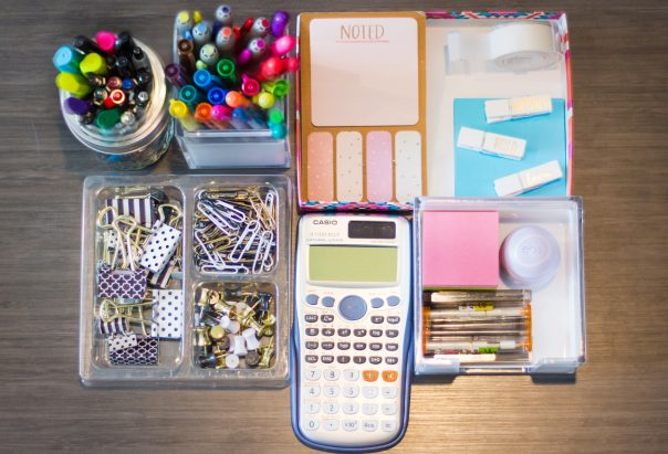 DIY School Supply Station | CGH Lifestyle