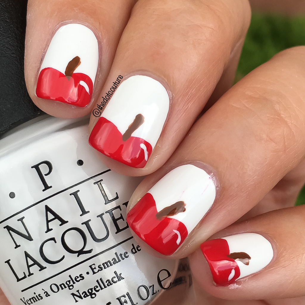 Apple Nail Art | CGH Lifestyle