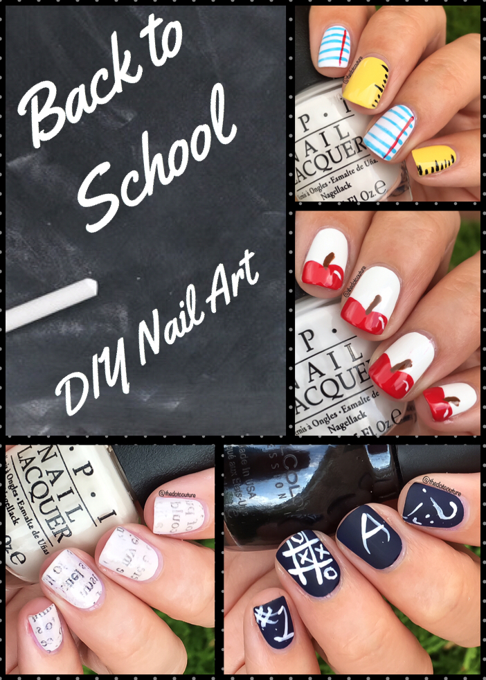 Back To School Nail Art! | Cute Girls Hairstyles