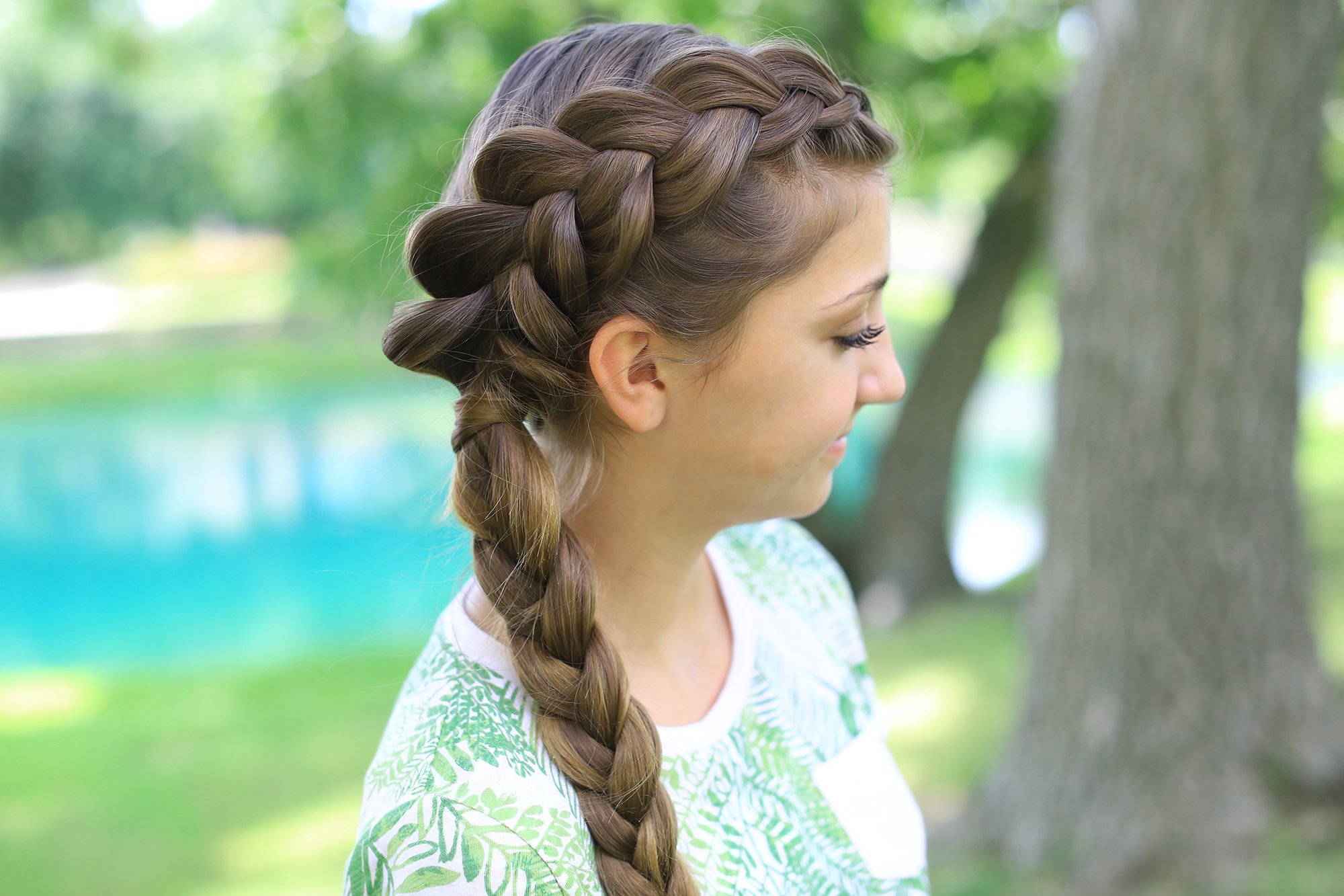 Side Dutch Braid Combo