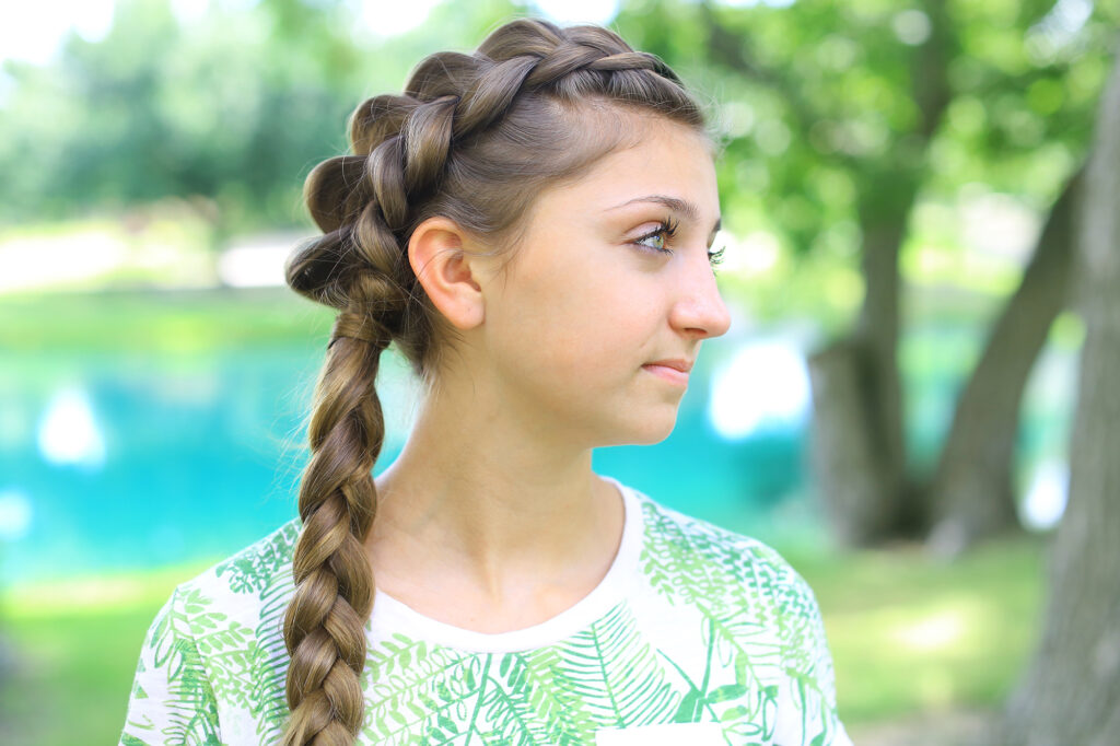 Side Dutch Braid Combo | Cute Girls Hairstyles