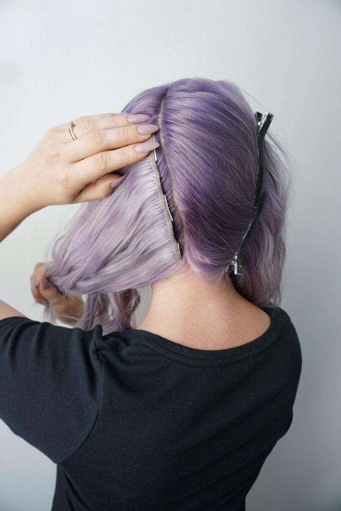 Clip In Hair Extensions for a Side Dutch Braid   Cute ...