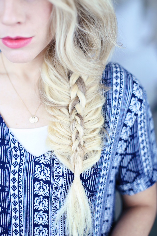 Stacked Side Braid | Cute Girls Hairstyles