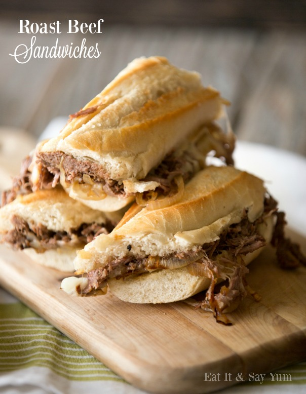 Roast Beef Sandwiches   Football Season   CGH Lifestyle