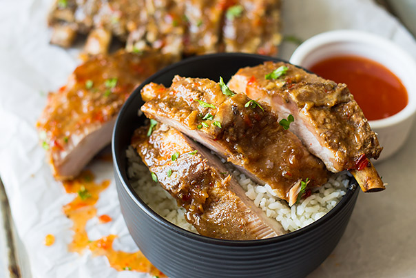 Slow Cooker Asian Ribs | CGH Lifestyle