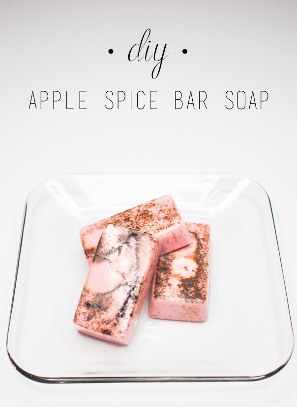 DIY Apple Spice Bar Soap   CGH Lifestyle
