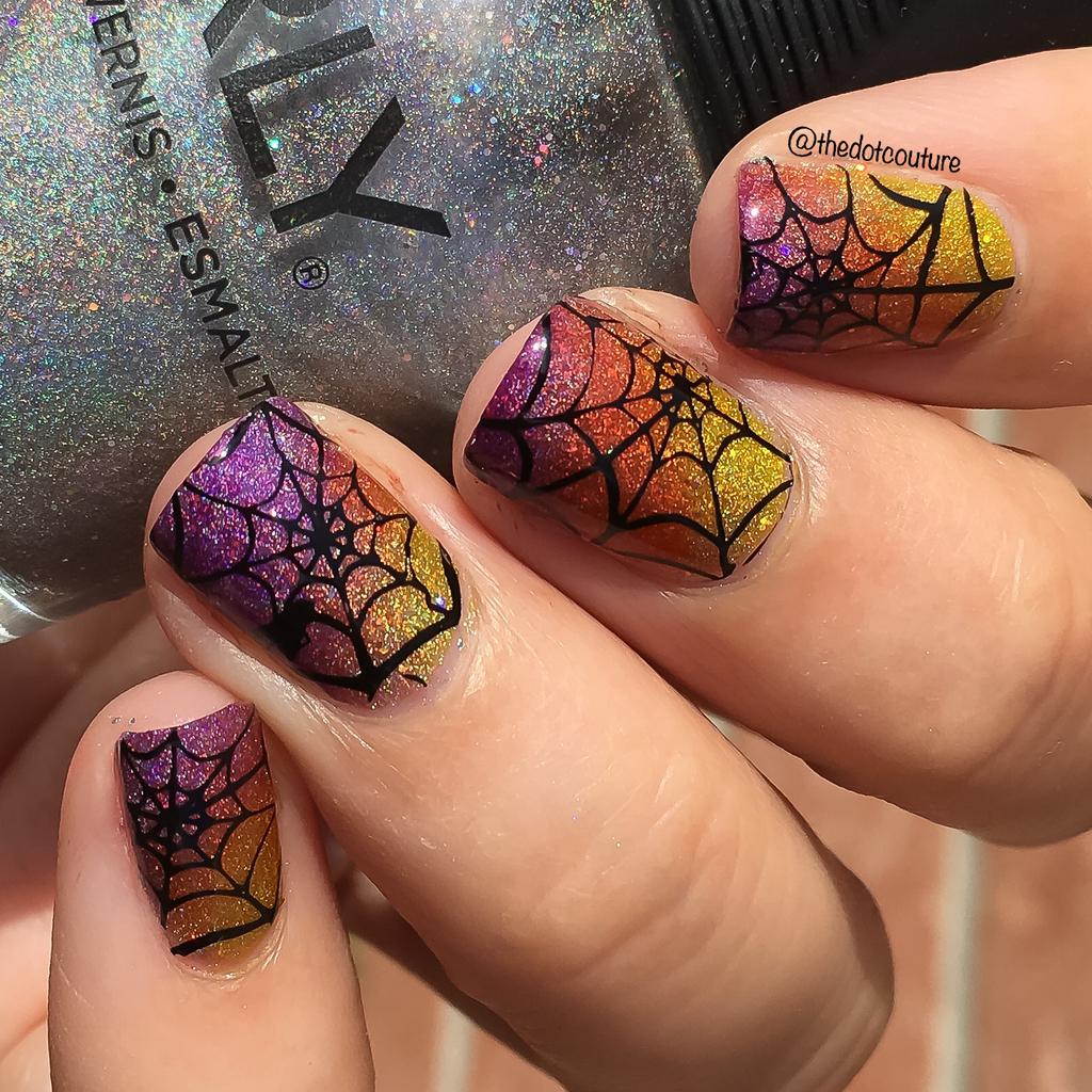 Spiderweb Nails   CGH Lifestyle