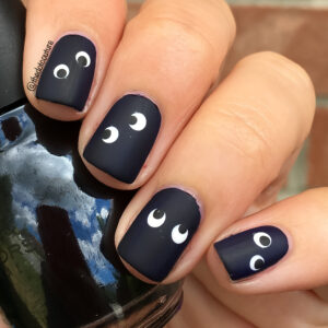 Spooky Eye Nails | CGH Lifestyle