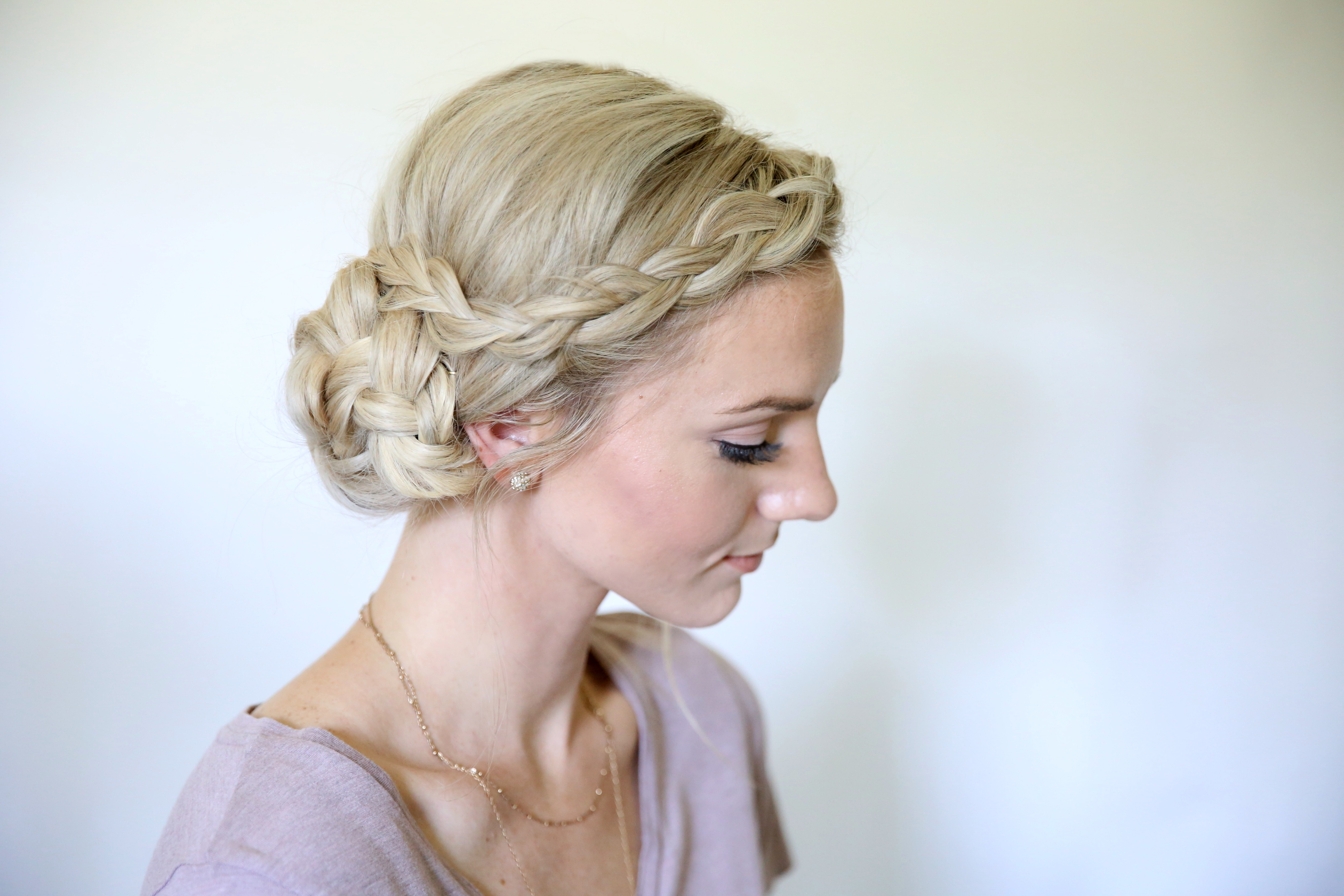 Hairstyles Braids On The Side: Cute Girls Hairstyles
