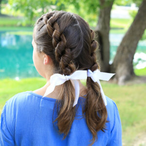 Double Knotted Braid | Cute Girls Hairstyles