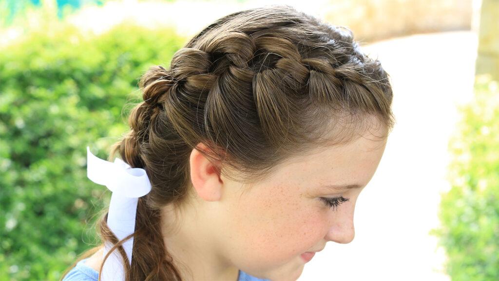 Shoelace Braid   Cute Girls Hairstyles