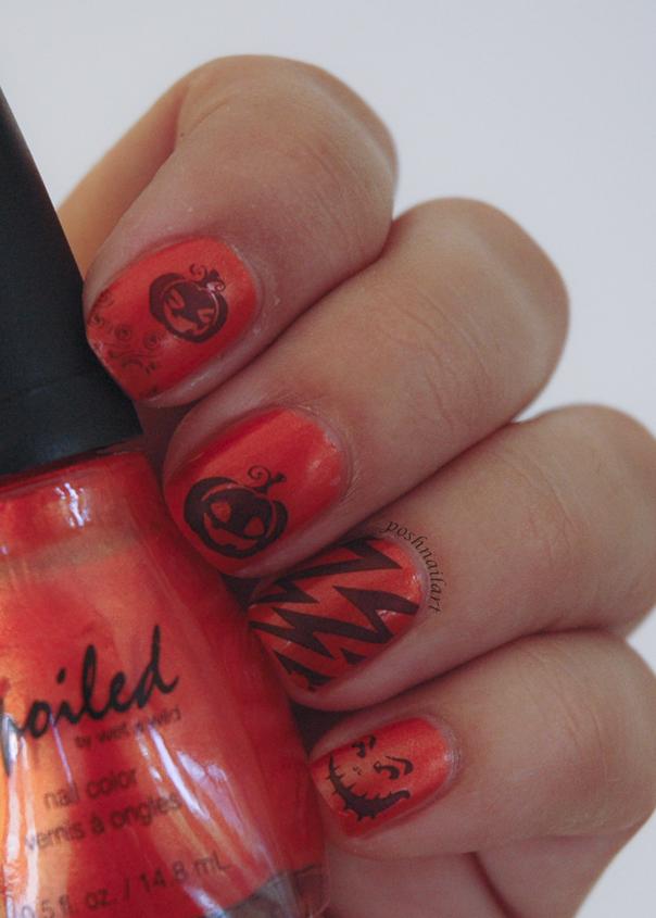 Pumpkin Spice Nails | CGH Lifestyle