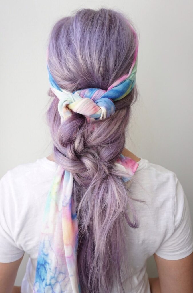 Boho Scarf Braid | CGH Lifestyle
