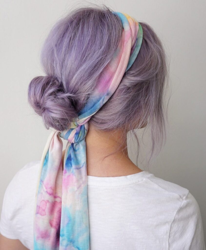 Scarf Hairstyles | CGH Lifestyle