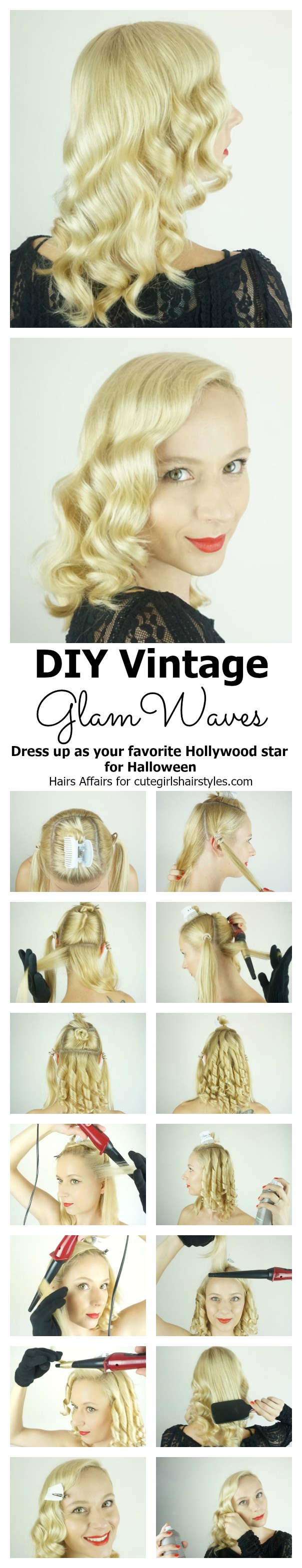 DIY Vintage glam waves | CGH Lifestyle
