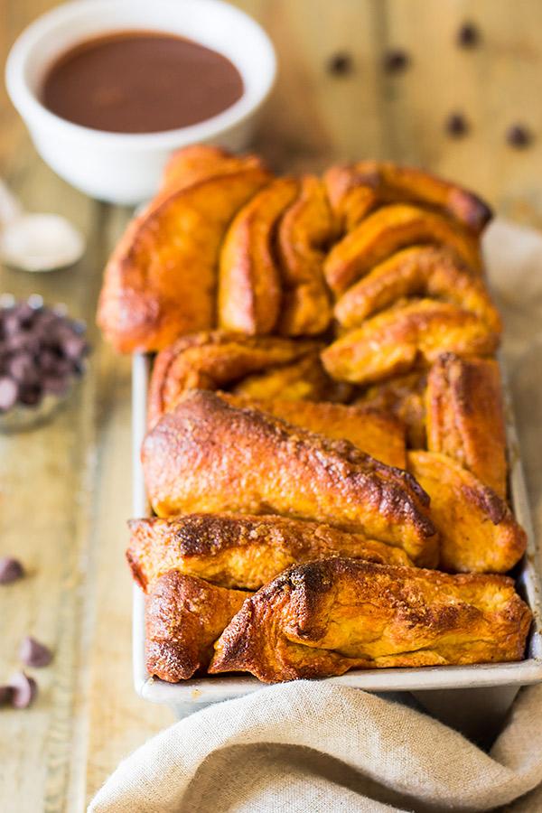 Pumpkin Pull-apart Bread | CGH Lifestyle