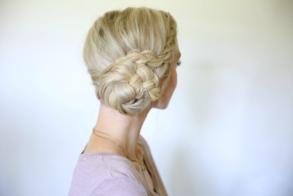 Easy Braided Bun | Cute Girls Hairstyles
